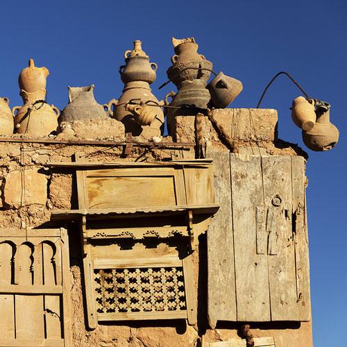 City Vista de Ait Ben Haddou, Maroc